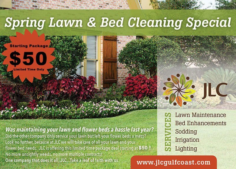 Spring Lawn & Flower Bed Cleaning Special